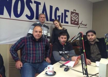 Центр Здоровой Молодежи на радиостанции «Nostalgie»