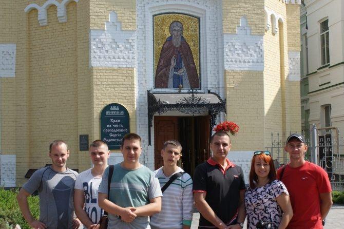 Ребята из МАА (Киевский регион) — посетили Киево-Печерскую Лавру